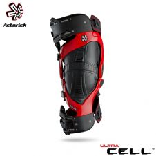 Asterisk Ultra Cel l2.0 Knee Protection System Adult (Red) Pair